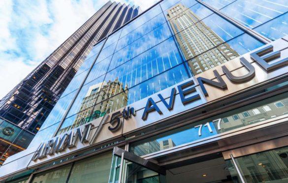 Armani Store sulla 5th Avenue di New York