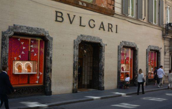 Bulgari Store di Via Condotti a Roma
