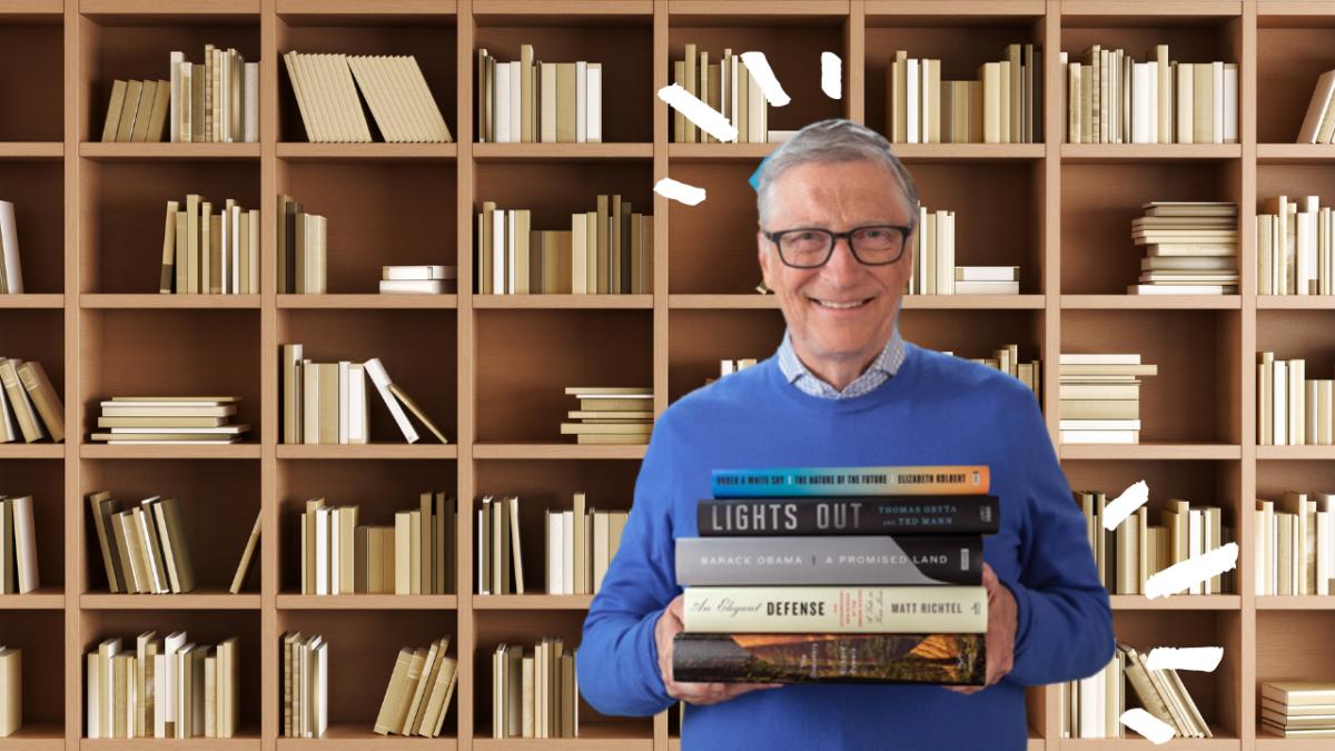 I 5 libri da leggere quest'estate consigliati da Bill Gates